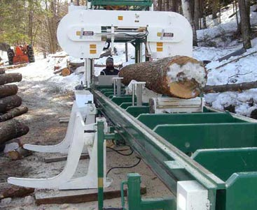 Band sawmills   Double-cut high production
