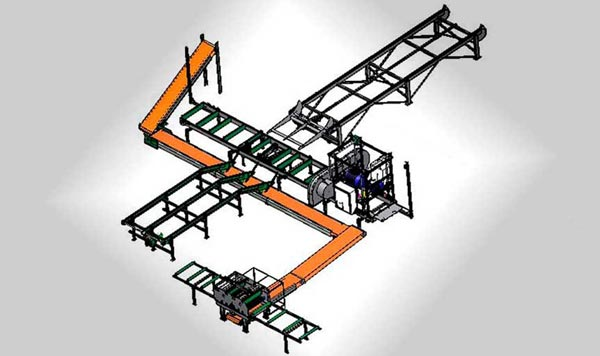 Band Sawmills Double Cut High Production