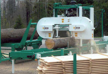 Band sawmills | Double-cut high production