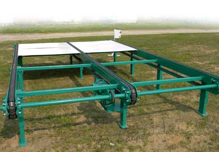 Infeed Outfeed Decks And Conveyors Select Sawmill Co