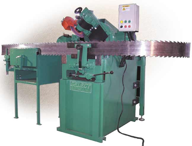 Bandsaw Sharpening Equipment - SELECT Sawmill Co