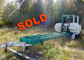Used Double-Cut Sawmill